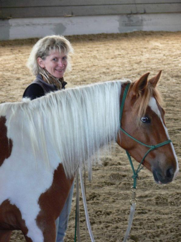 Die Pferde Grund Schule - Natural Horsemanship Trainer - Christine Bönninger