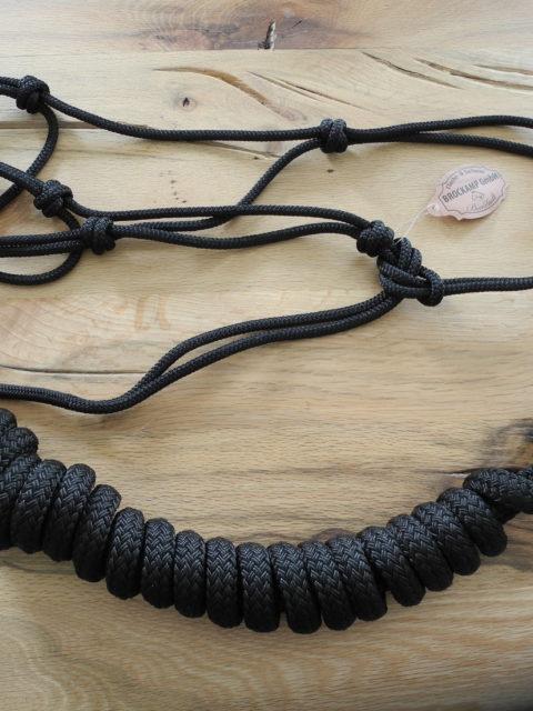 Brockamp Halfter und Rope in schwarz