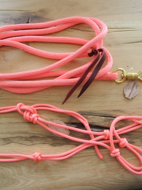 Brockamp Halfter und Rope in pink